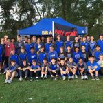 Olentangy Boys XC are not Putting Around on the Course