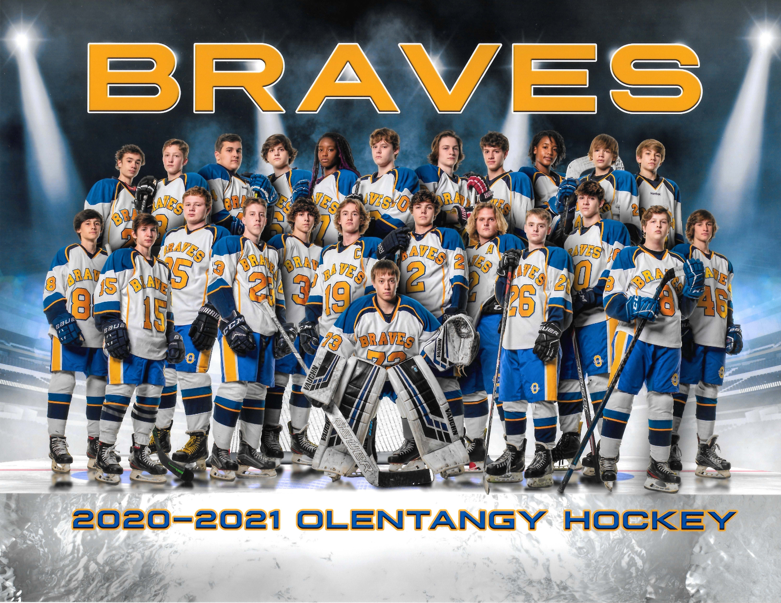 Varsity Hockey Team Photo
