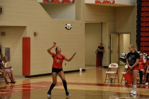 Varsity Volleyball vs Crown Point: August 14, 2017