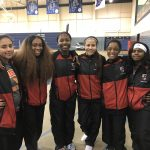 Girls Varsity Track finishes  at Bishop Noll Institute School