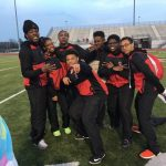 Boys Varsity Track finishes 2nd place at Hobart High School