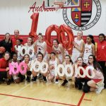 Girls Basketball Beats Hanover Central; Coach Scheub Secures 100th Career Victory