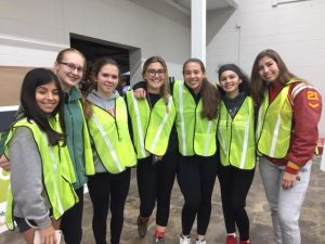Girls Softball – Community Service