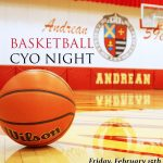 Boys Basketball Reschedules CYO Night to Friday February 15th