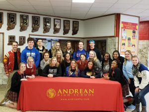 Softball Seniors College Commitments