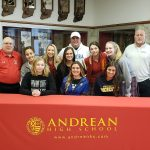 Three Softball Players Commit to Play in College