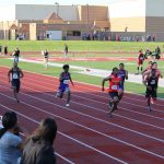 Boys Track Finishes 5th at Sectionals; Thomas and Williams Win