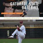 Michael Doolin Named Gatorade Indiana Baseball Player of the Year!
