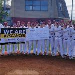 Baseball Raises $5000 for Vs. Cancer