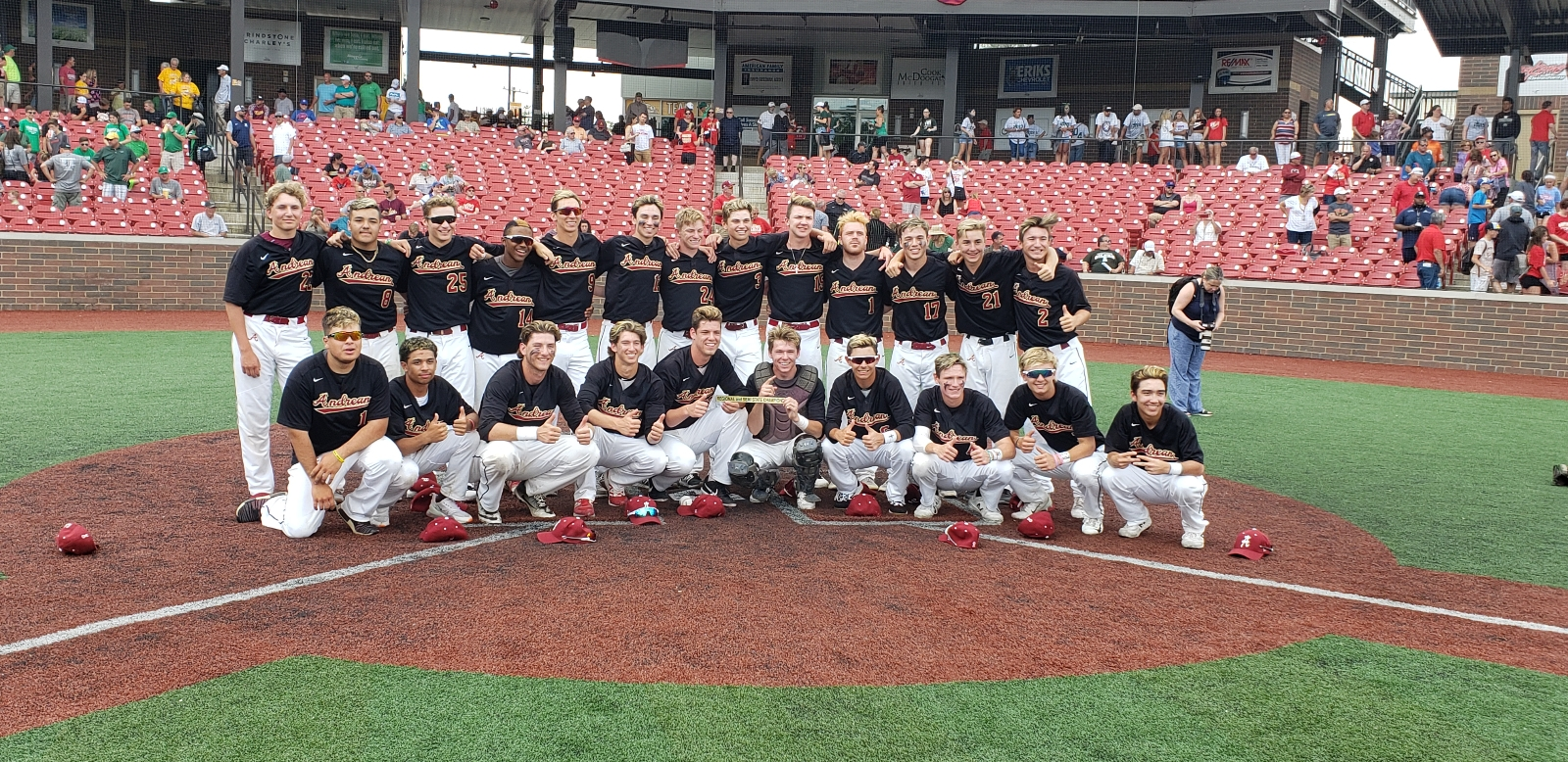 Andrean Baseball Trying for State Title Repeat!