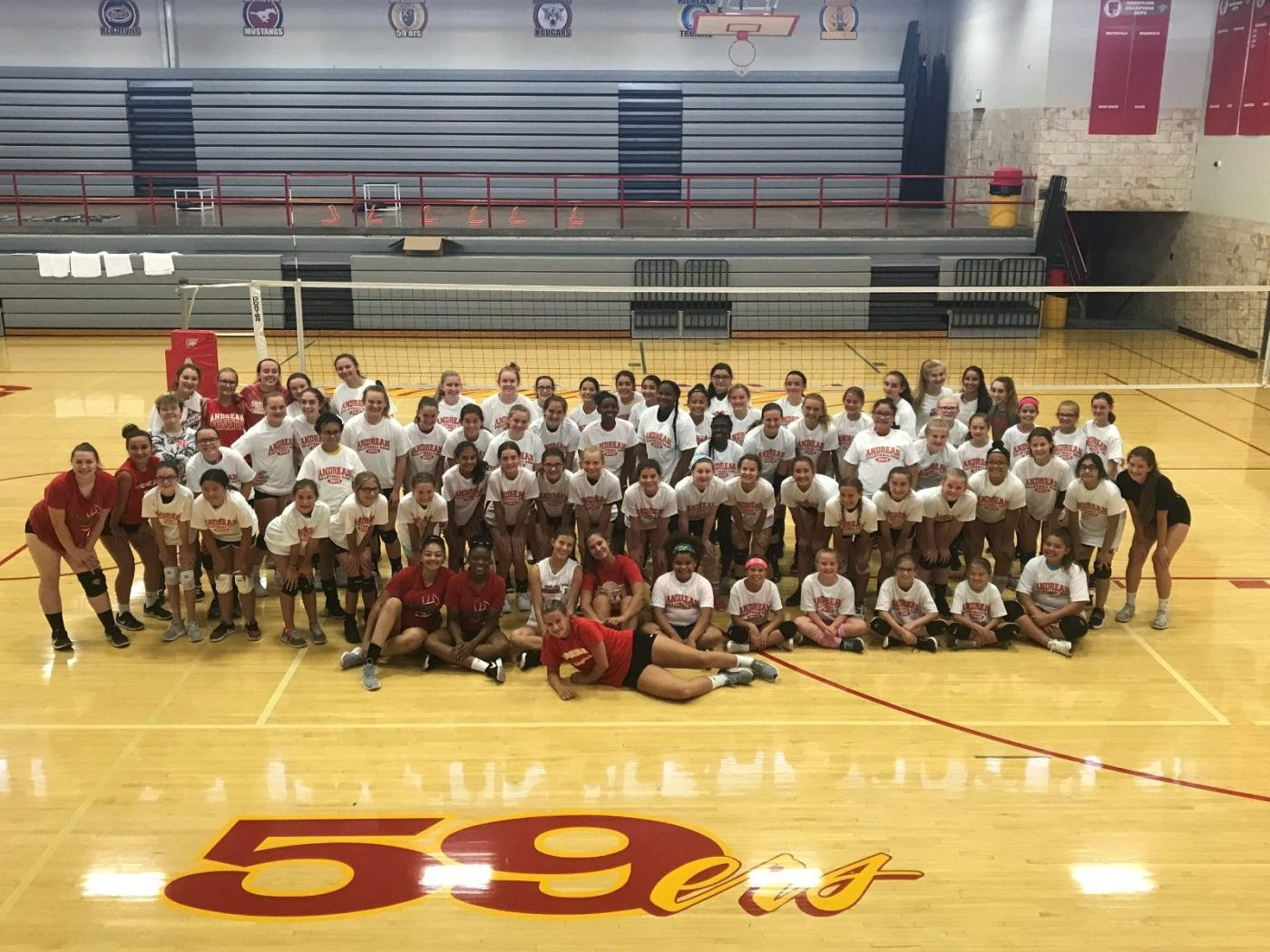 Andrean Volleyball Camp a Big Hit!