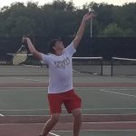 Boys Varsity Tennis falls to Hobart 4 – 1