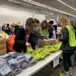 Softball Volunteers at The Food Bank of Northwest Indiana
