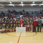 Andrean Basketball Raises $8600 for Vs. Cancer Game