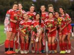 Girls Soccer Senor Night 2020