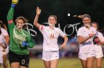 Girls Varsity Soccer beats Portage 3 – 1