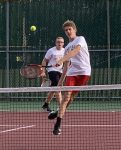 Boys Varsity Tennis falls to Thomas A Edison Jr./Sr. 3 – 2