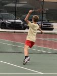 Andrean Boys Varsity Tennis Defeats Griffith