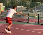 Andrean Boys Varsity Tennis falls to Illiana Christian High School