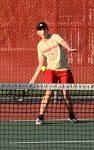 Boys Varsity Tennis falls to Portage 4-1