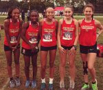 Girls Cross Country finishes 6th place at NCC Cross Country Championship