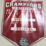 Added a year to the Bulldog Boys Track and Field Banner!