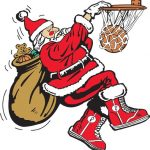 Get Your Picture with Santa at Friday Night's Basketball Game!