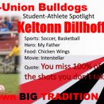 Student Athlete Spotlight! Keltonn Dillhoff