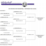 MU Boys Basketball Sectional Tournament Tuesday Feb. 27th 7:30 PM at Northmont High School
