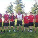 Boys Tennis 2018 SWBL Buckeye Champions!