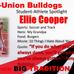 Milton-Union Bulldogs Student-Athlete Spotlight!