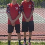 Brumbaugh Duo Advances to OHSAA Tennis Districts