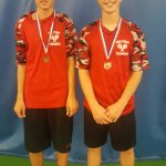 Brumbaugh Duo Continues to Impress, Place Third at Boys Tennis Districts!