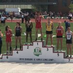 Morgan Grudich Places Fifth in the State in the Long Jump