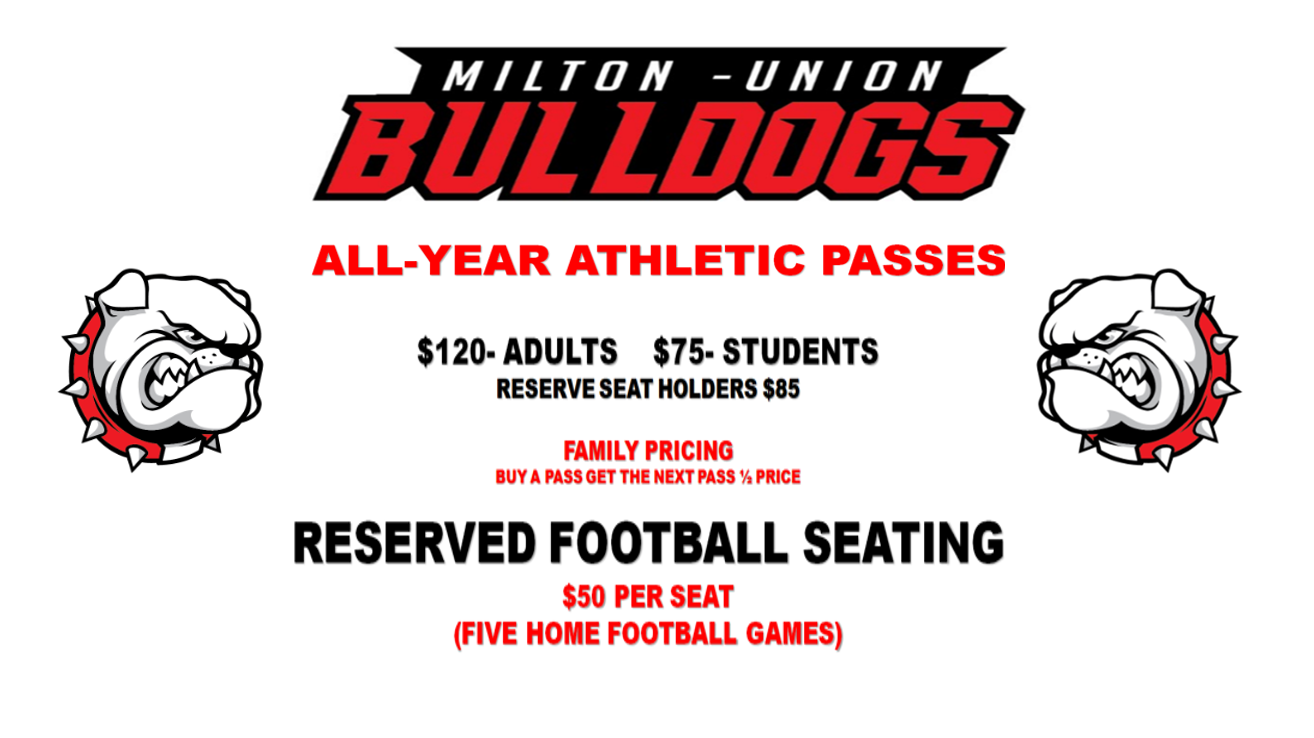 2019-2020 All Sports Passes and Football Reserved Seating Information