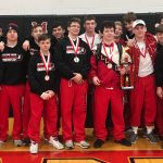 Bulldog Wrestlers First at Madison Invitational
