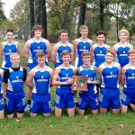Boys Varsity Cross Country finishes 1st place at vs OPEN DATE