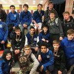 Boys Varsity Wrestling finishes 1st place at Sidney JV Tournament