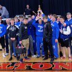 Varsity Wrestling finishes 1st place at Bulldog Invitational