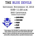 Breakfast with the Blue Devils 11/16