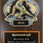 Brookville A Wrestling finishes 2nd place Brookville B places 5th at Versailles Dual Tournament