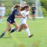 Girls Varsity Soccer beats John Paul II 3 – 0