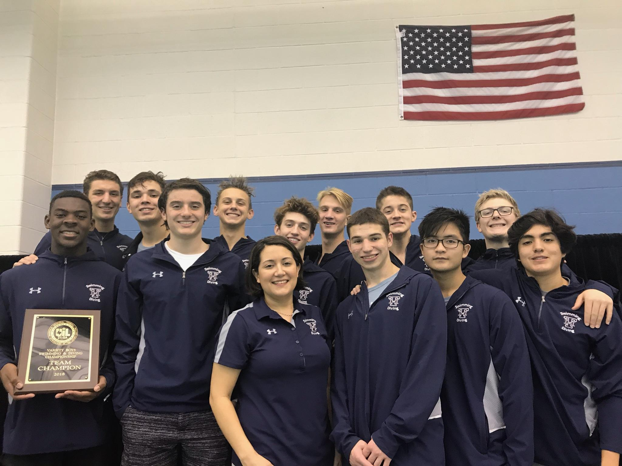 Congratulations TMHS Swim & Dive!