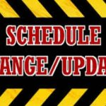 TMHS Baseball Camp – Schedule Change