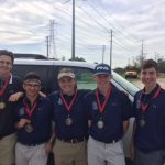 Boys Varsity Golf finishes 1st place at North Shore