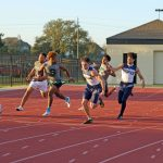 PICTURES UP!  TRACK - District Meet at THS