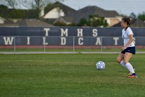 PICTURES UP! TMHS Girls Soccer vs THS 3/23/2018
