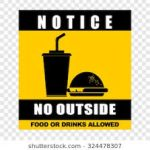 Outside Food and Drinks not Permitted at TMHS Athletic Events
