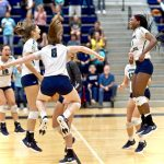 WIN FOR @tmhsvolleyball CREATES 3-WAY TIE FOR 1st IN DISTRICT