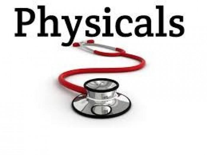 2019-2020 Physicals